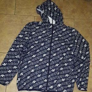 Original Adidas Logo windbreaker Jacket